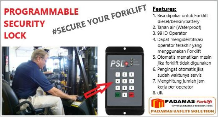 Safety Accessories Security Lock 2 psl
